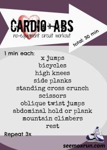 cardio+abs