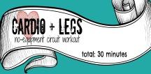Cardio+Legs