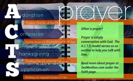 ACTS prayer model